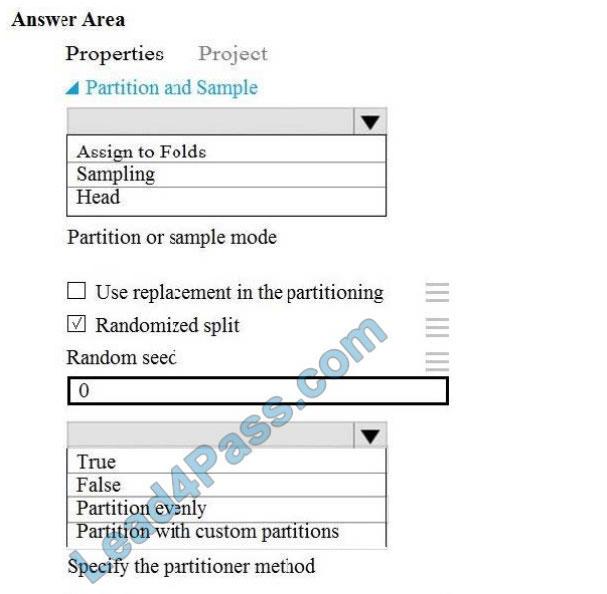 microsoft dp-100 exam questions q12
