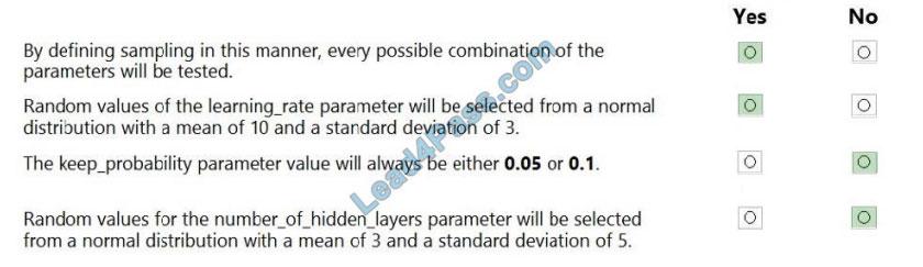microsoft dp-100 exam questions q9-2